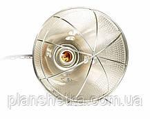 Рефлектор для інфрачервоної лампи (абажур) Tehnomur S1005 колір алюміній, фото 3