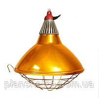 Рефлектор для інфрачервоної лампи (абажур) Tehnomur S1022 бронзовий колір