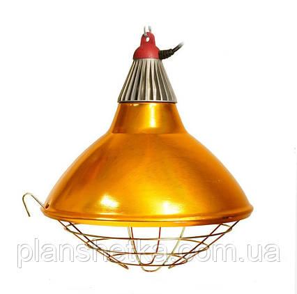 Рефлектор для инфракрасной лампы (абажур) Tehnomur  S1022 цвет бронзовый, фото 2