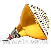 Рефлектор для инфракрасной лампы (абажур) Tehnomur  S1022 цвет бронзовый, фото 3