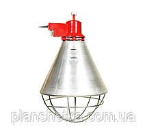 Рефлектор с галогенной лампой (абажур) Tehnomur  S1014 цвет алюминий