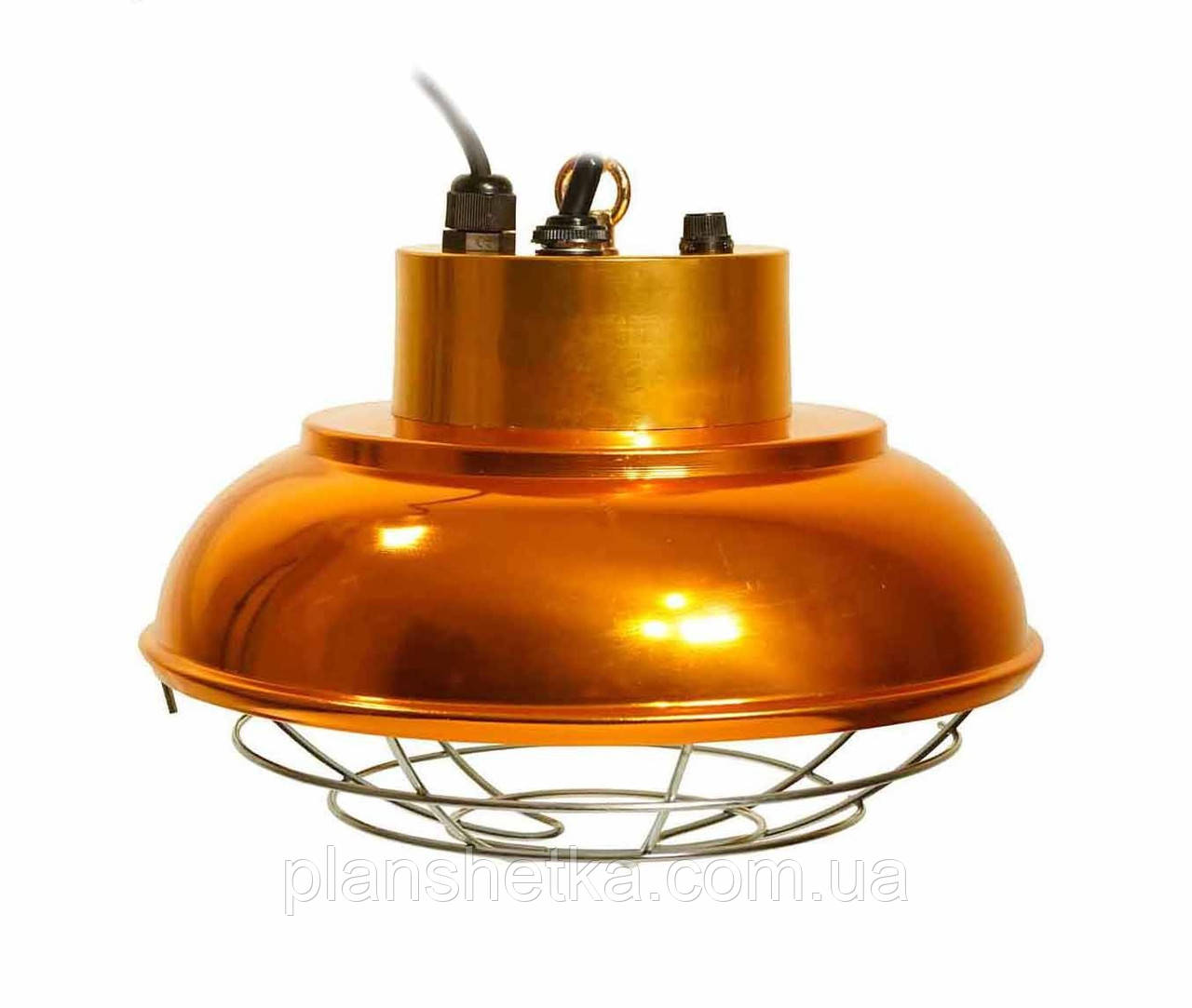 Рефлектор з галогенною лампою (абажур) Tehnomur S1030 колір бронза