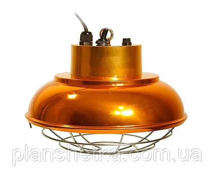 Рефлектор з галогенною лампою (абажур) Tehnomur S1030 колір бронза, фото 2