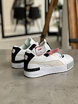 Кроссовки Puma Cali Mix Пума Кали Микс Чёрно-белые (37 последний), фото 2