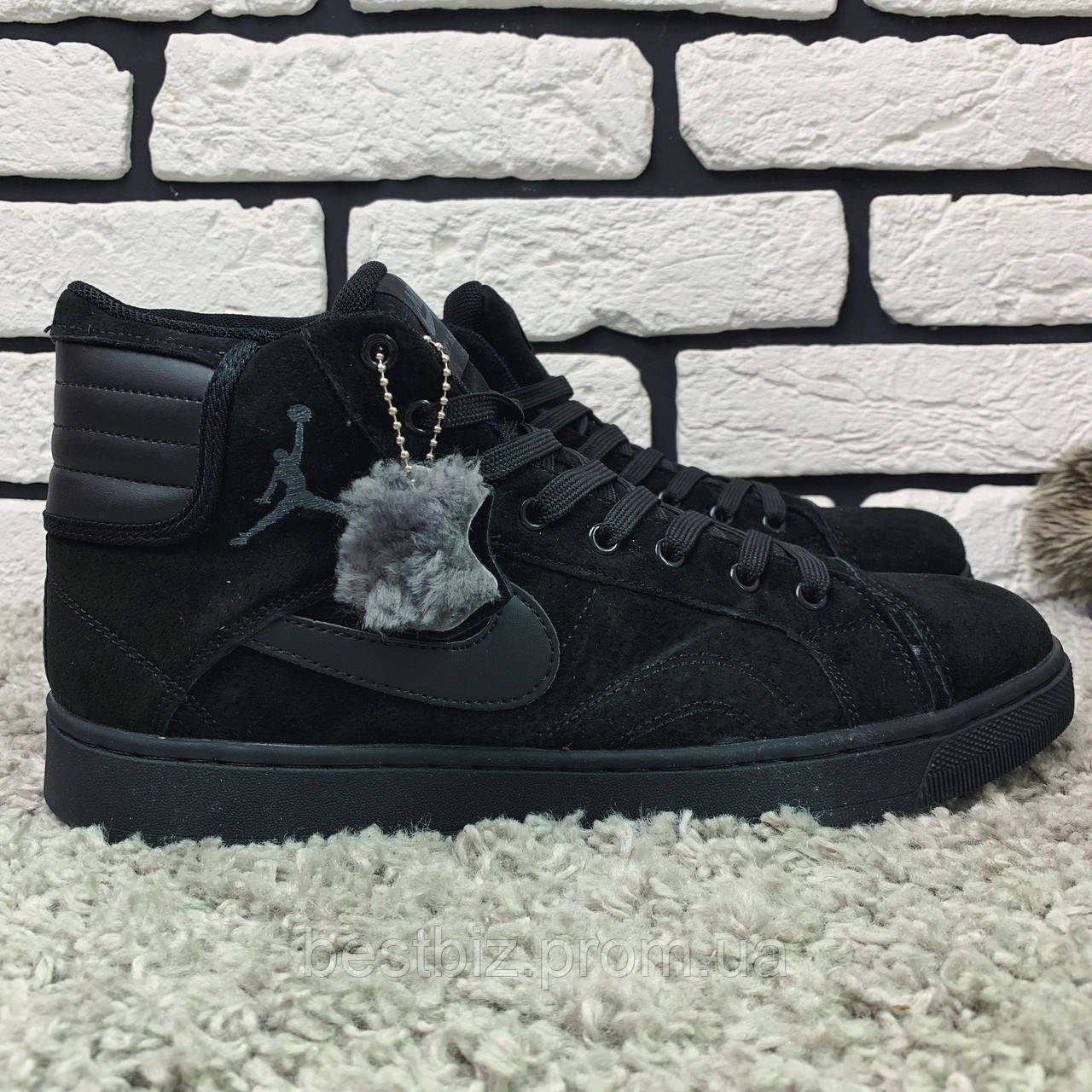 Зимові кросівки (на хутрі) Nike Air sky high 1-166 ⏩ [44,45 ]