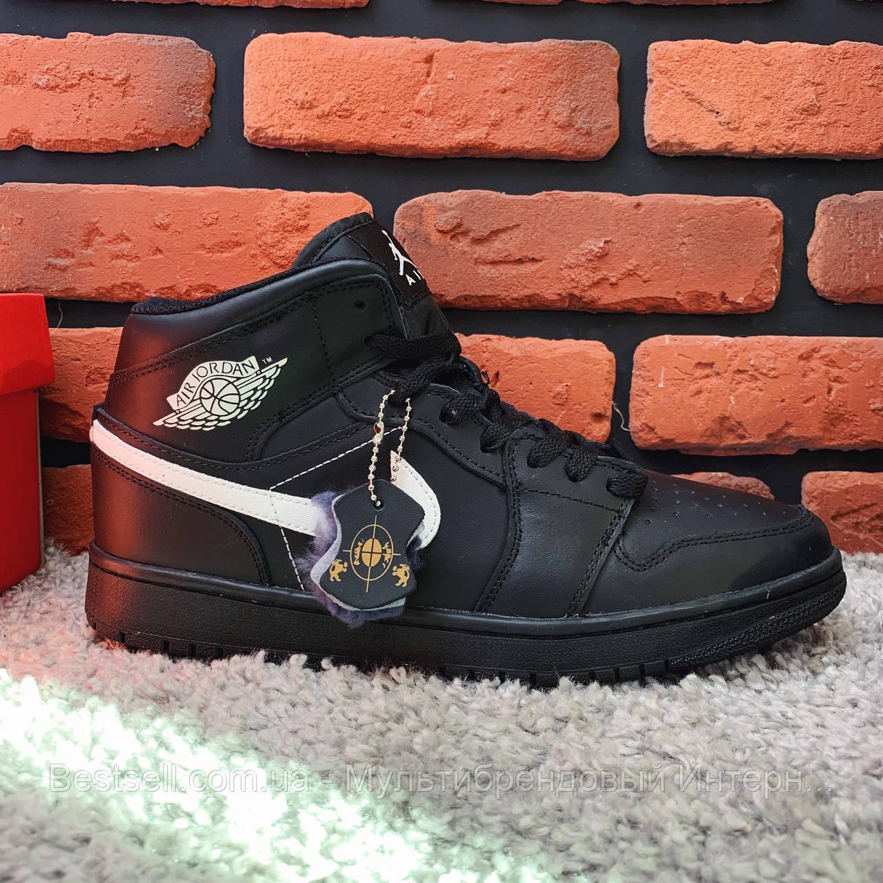 Зимові кросівки (на хутрі) Nike Air Jordan 1-127 ⏩ [43 останній розмір]