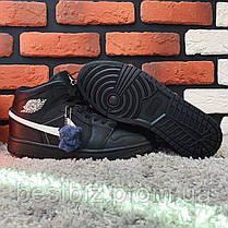 Зимние кроссовки (на меху) Nike Air Jordan 1-127 ⏩ [43 последний размер], фото 2