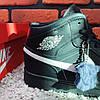 Зимові кросівки (на хутрі) Nike Air Jordan 1-127 ⏩ [43 останній розмір], фото 4