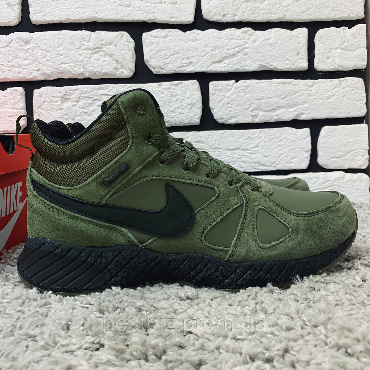 Зимние ботинки (на меху) Nike Air Max 1-020 ⏩ [ 45 последний размер ]