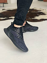 Кроссовки Adidas Alphabounce Instinct Black Адидас Альфабаунс Инстинкт Чёрные  (41,42,43,44,45), фото 2