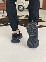 Кроссовки Adidas Alphabounce Instinct Black Адидас Альфабаунс Инстинкт Чёрные  (41,42,43,44,45), фото 3