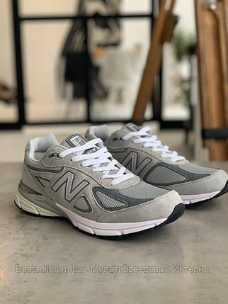 Кроссовки New Balance 993 Grey Нью Беланс 993 Серые (41,42 ), фото 2