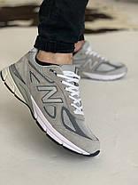 Кроссовки New Balance 993 Grey Нью Беланс 993 Серые (41,42 ), фото 3