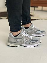 Кросівки New Balance 993 Grey Нью Беланс 993 Сірі (41,42 ), фото 3