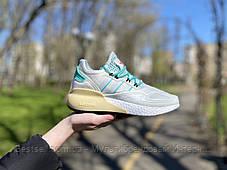 Кроссовки Adidas ZX 2K Адидас  Белые (36,37,38,39), фото 3