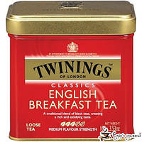 Чай черный Twinings English Breakfast Tea ж/б 100г