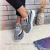 Кроссовки Adidas Yeezy Boost  30784 ⏩ [ 37 последний], фото 3