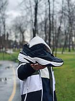 Кросівки натуральна шкіра Nike M2K Tekno Найк М2К Текно (40,41,42,43,44,45), фото 2