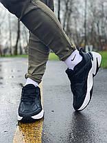 Кросівки натуральна шкіра Nike M2K Tekno Найк М2К Текно (40,41,42,43,44,45), фото 3