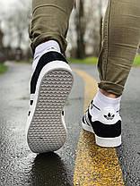 Кроссовки  натуральная замша Adidas Gazelle Адидас Газель (42,43,44,45), фото 3