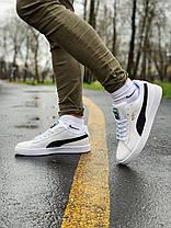 Кросівки натуральна замша Puma Suede Пума Суеде (41,42,43,44,45), фото 3