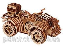 Деревянный 3D конструктор Квадроцикл, фото 2