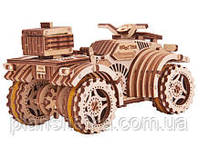 Деревянный 3D конструктор Квадроцикл, фото 3