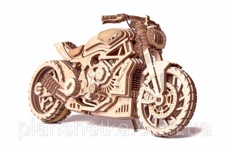Дерев'яний 3D конструктор Мотоцикл DMS