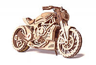 Деревянный 3D конструктор Мотоцикл DMS