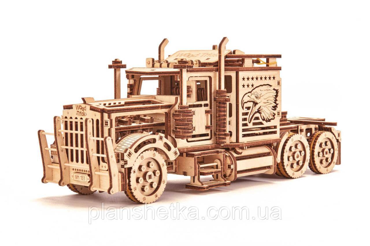 Дерев'яний 3D конструктор Тягач