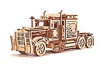 Деревянный 3D конструктор Тягач