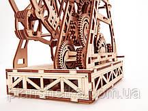 Деревянный 3D конструктор Механическое колесо обозрения, фото 2