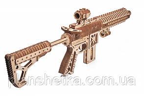 Деревянный 3D конструктор Штурмовая винтовка AR-T