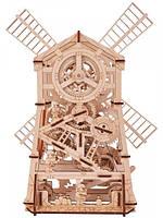 Дерев'яний 3D конструктор Млин механічна