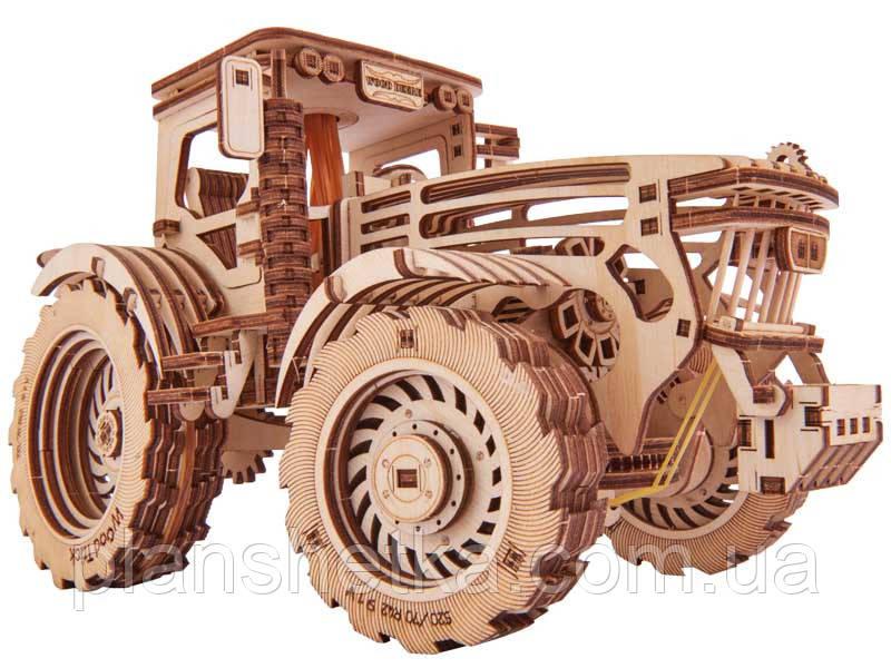Деревянный 3D конструктор Трактор