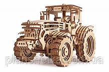 Деревянный 3D конструктор Трактор, фото 3