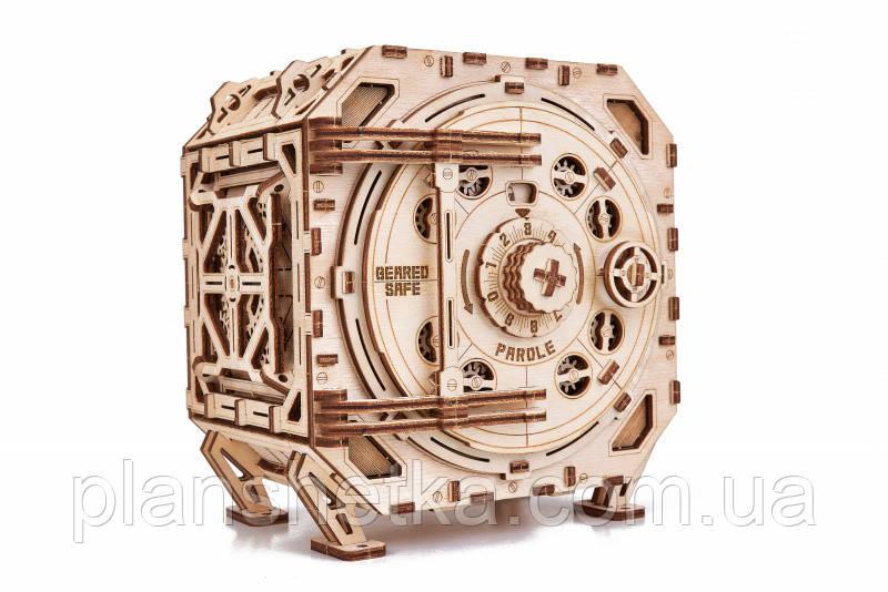 """Дерев'яний 3D конструктор """"Механічний Сейф"""""""