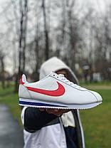 Кросівки шкіряні NIKE CLASSIC CORTEZ LEATHER Найк Класік Кортез (40,42,44,45), фото 2