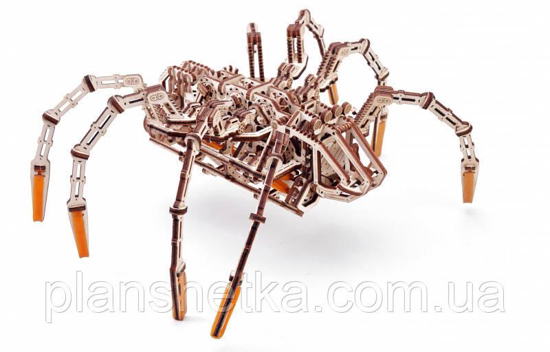 """Дерев'яний 3D конструктор """"Космічний Павук"""""""