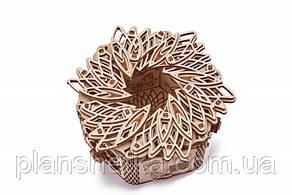 """Дерев'яний 3D конструктор """"Таємнича квітка"""""""