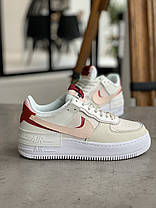 Кроссовки Nike Air Force 1 Shadow Найк Аир Форс 1 (36,37,38,39), фото 2