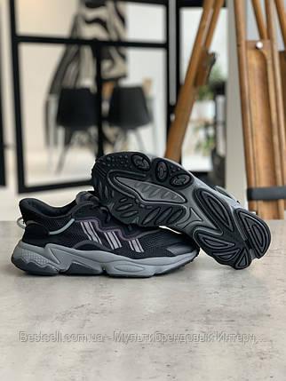 Кросівки Adidas Ozweego Black Адідас Озвиго Чорні (42,43,44,45), фото 2