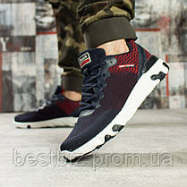 Кроссовки мужские 10013, BaaS Fashion, темно-синие, [ 43 44 ] р. 43-27,8см., фото 2
