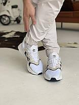 Кроссовки Adidas Ozweego White with black stripes Адидас Озвиго Белые с чёрными полосками (41,42,44,45), фото 3