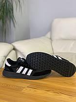 Кроссовки Adidas Iniki Black Адидас Иники Чёрные (41,42,43,44), фото 3