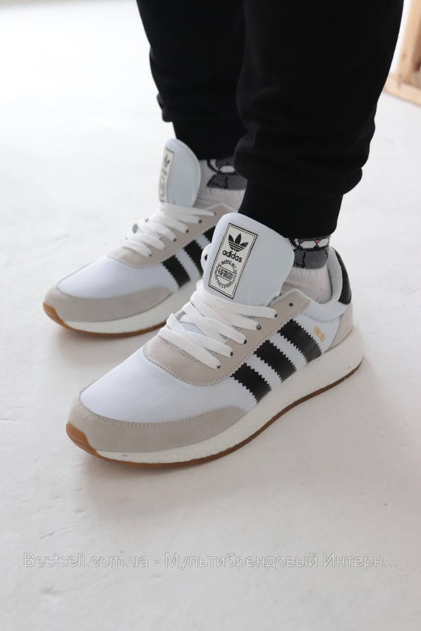 Кроссовки Adidas Iniki White Адидас Иники Белые (41,42,43,44)