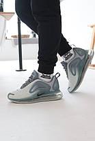 Кроссовки  Nike Air Max 720 Grey Найк Аир Макс 720 Серые (41,42,43,44,45), фото 2