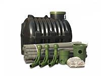 Автономная канализация- Комплект очистки сточных вод до 6-х человек , 900 л/с, Эколайн