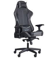 Кресло VR Racer Expert Hero черный/серый БЕСПЛАТНАЯ ДОСТАВКА !