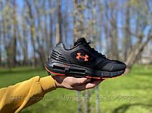 Кросівки Under Armour HOVR Phantom Black Андер Армор Ховр Фантом Чорні (41,42,43,44,45), фото 2